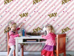 YAY, Minnie Mouse! Παιδικά Ταπετσαρίες Τοίχου 100 x 100 εκ.