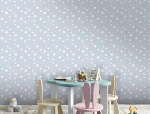 Ocean bubbles, Little Mermaid! Παιδικά Ταπετσαρίες Τοίχου 100 x 100 εκ.