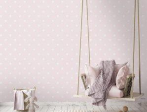 Pink, Minnie Mouse Παιδικά Ταπετσαρίες Τοίχου 100 x 100 εκ.