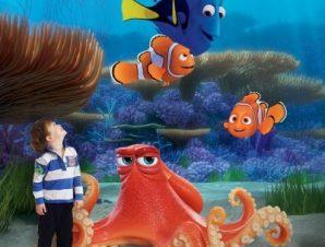 Hank, Marlin, Nemo & Dory Παιδικά Ταπετσαρίες Τοίχου 100 x 100 εκ.