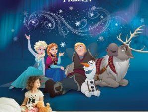Kristoff, Olaf, Elsa, Anna & Sven ,Frozen Παιδικά Ταπετσαρίες Τοίχου 100 x 100 εκ.