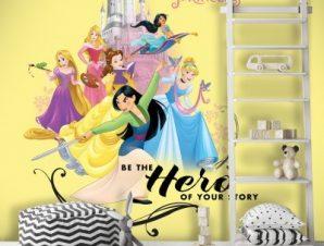 Hero, Princess Παιδικά Ταπετσαρίες Τοίχου 100 x 100 εκ.