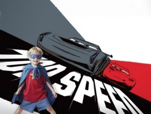 Top speed, Cars! Παιδικά Ταπετσαρίες Τοίχου 100 x 100 εκ.