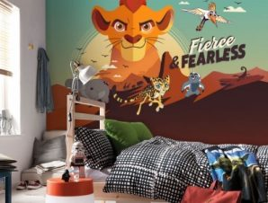 Fierce & Fearless, The Lion Guard Παιδικά Ταπετσαρίες Τοίχου 100 x 100 εκ.